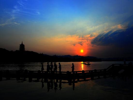 新浪旅游配图:夕照美景 摄影:杭居易
