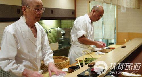 主厨小野次郎和他的儿子小野祯一