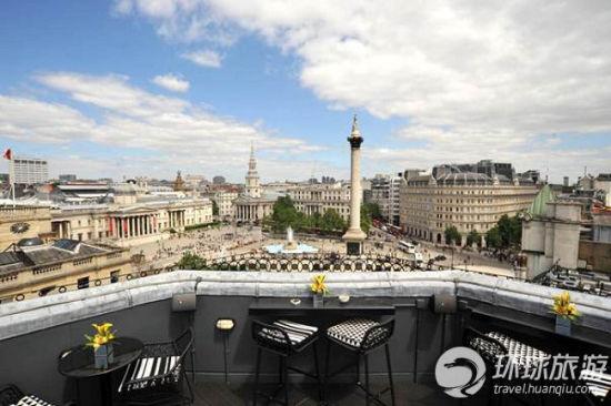 伦敦的特拉法加酒店