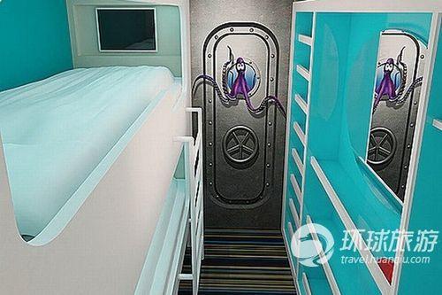 孩子们在博格诺•里吉斯海浪酒店有属于自己的空间