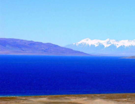 当惹雍错,西藏第三大湖