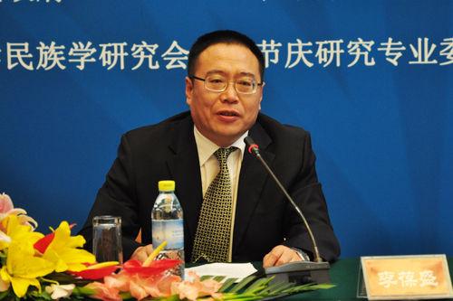 广西驻京办副主任李葆盛。中国网记者 田川 摄.JPG