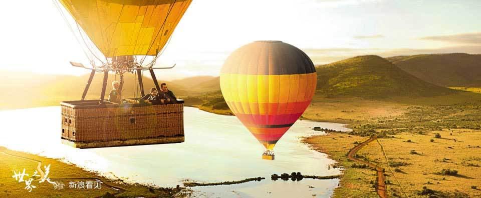 南非热气球