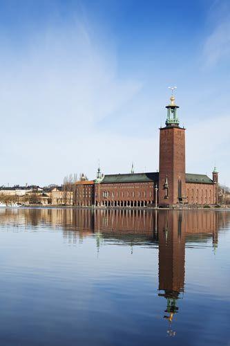 斯德哥尔摩市政厅 来源:Anna Andersson/imagebank.sweden.se
