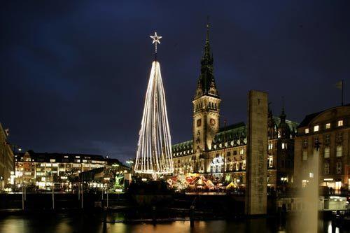 圣诞节期间,汉堡将开设12处圣诞市场