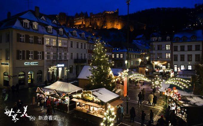 去德国圣诞节旅游