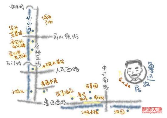 漫步手绘图