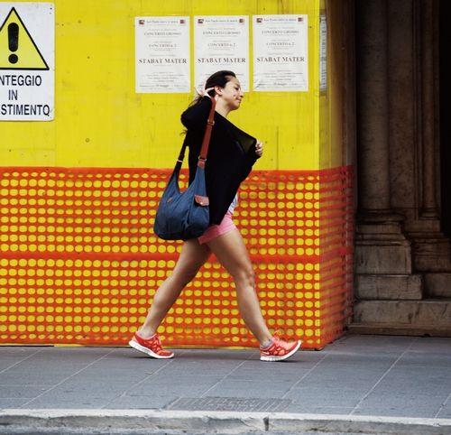 在罗马街头,随处可以遇见欧洲最时尚、最动感的元素 摄影/梁文生