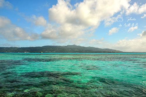 塞班島七彩海洋