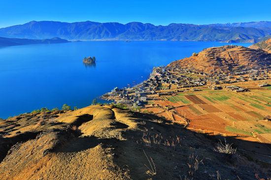 美丽的泸沽湖