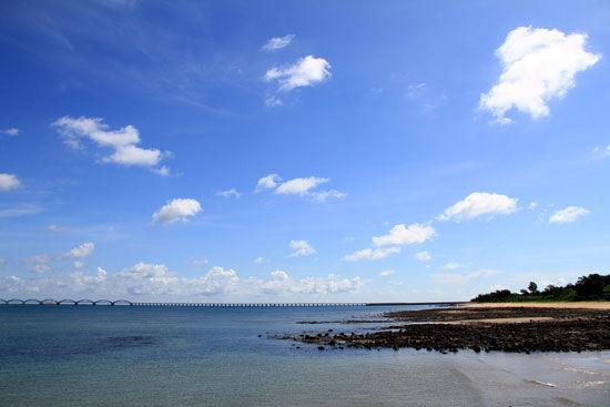 涠洲岛的碧海蓝天