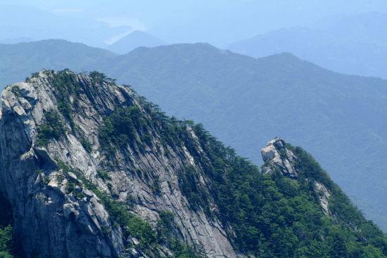 罗田县天堂寨 最接近天堂的地方