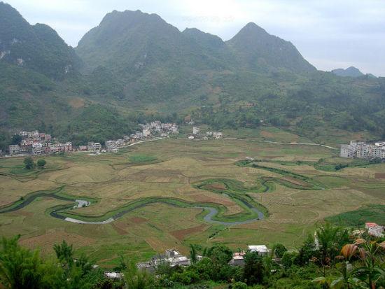 早餐俯瞰命河全景 图片来源:乐途旅行网