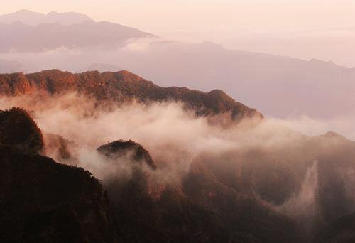 大明山 图片来源:张秀清 摄