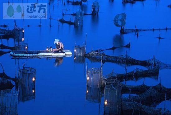 京岛虾灯 图片来源:依江