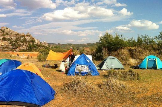 湿地是露营的不错选择
