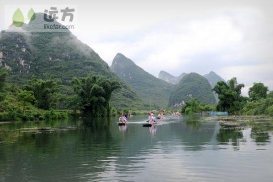 美丽的遇龙河 图片来源:远方网