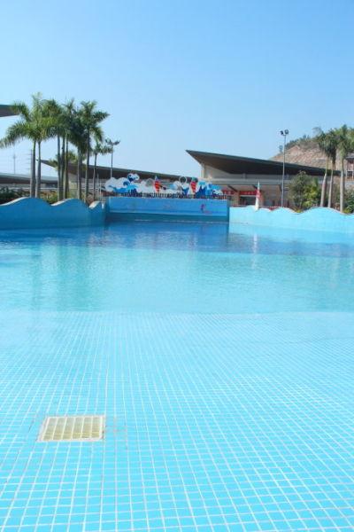 开发的游泳馆 图片来源:青青子衿 新浪博客