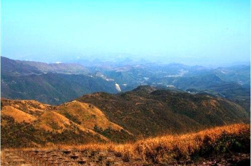 摩天岭美景