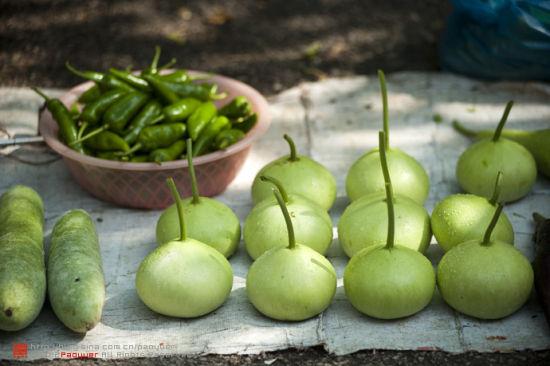 新鲜的蔬果 图片来源:泡鱼儿 新浪博客