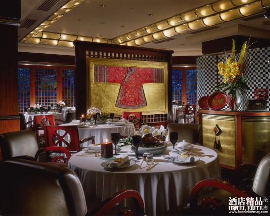 藏在新加坡酒店中的高级餐厅