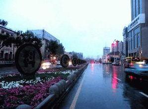 红军街景观