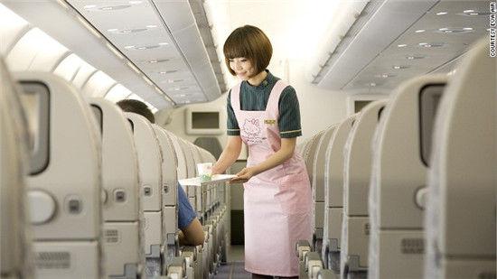 Hello Kitty主题飞机
