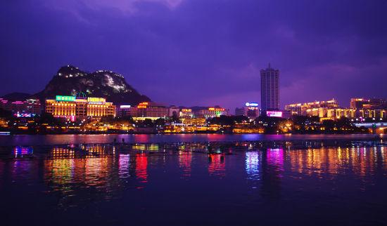 柳州绝美夜景 图源:新浪网