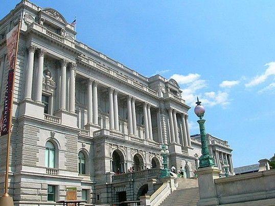 美国国会图书馆主阅读大厅
