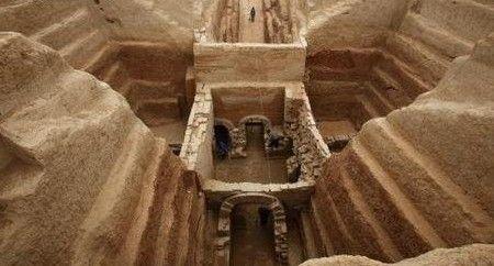 数数陕西的公主墓;;图片