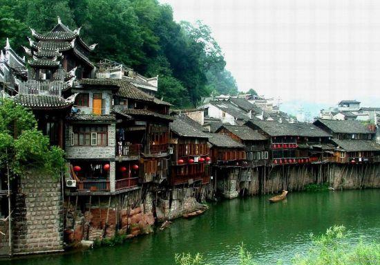 南方长城黄丝桥古城-湘西明珠凤凰古城 风情三日游图片