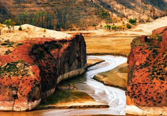 榆林红石峡
