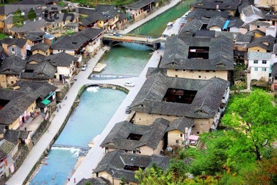 """有着""""闽南周庄""""之称的塔下村 作者:陈导演的茶"""