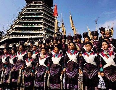 侗乡小黄村中国音乐天堂里藏凤凰(组图)