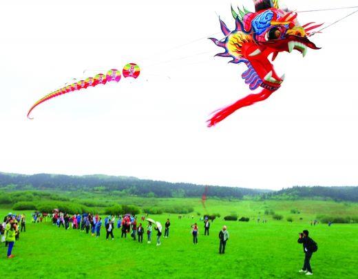你还能看到全球最大滚龙风筝