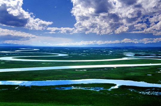 巴音布鲁克大草原