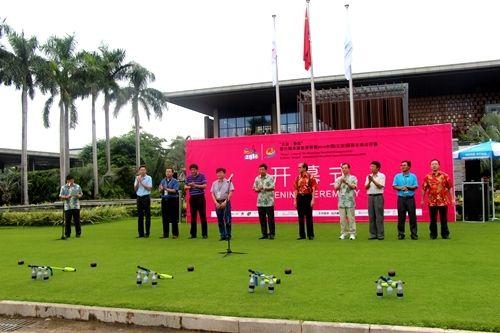 第六届木球世界杯在三亚举行开幕式