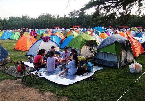 图:石京龙帐篷公园 来源:北京儿小球