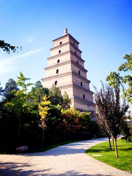 大慈恩寺是世界闻名的佛教寺院(图/via@牛津-小裁缝)