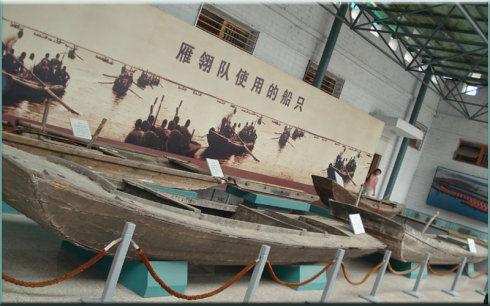 白洋淀文化苑展品 图片来源:新浪博主 小雪