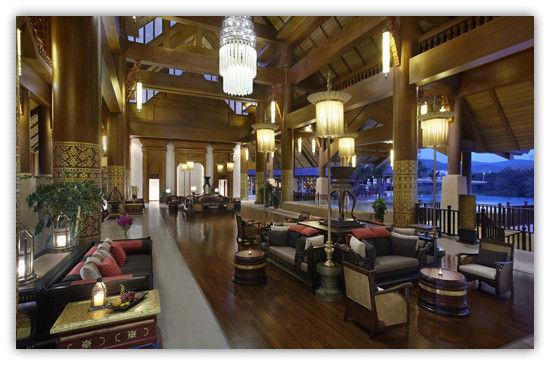高大上的安纳塔拉酒店