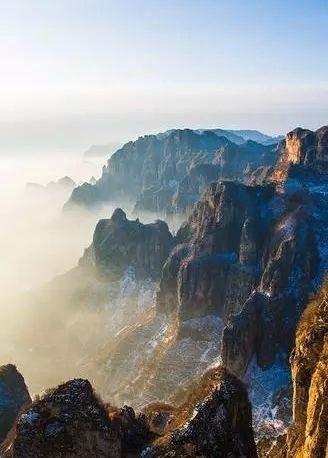 太行山是北雄风光的典型代表