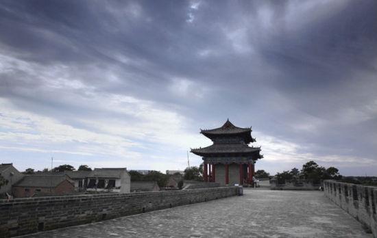 广府古城迷人的傍晚景象 图片来自新浪博主:广府小城