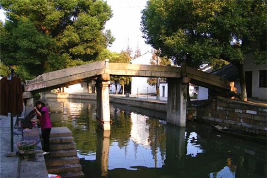 练塘原生态的水乡古镇