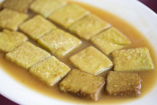 野菜嫩豆腐