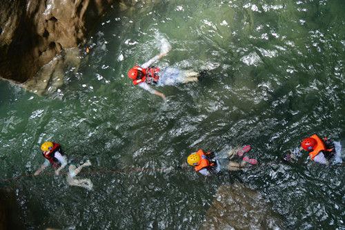 金刀峡溪降