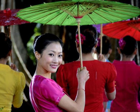 德宏傣族姑娘