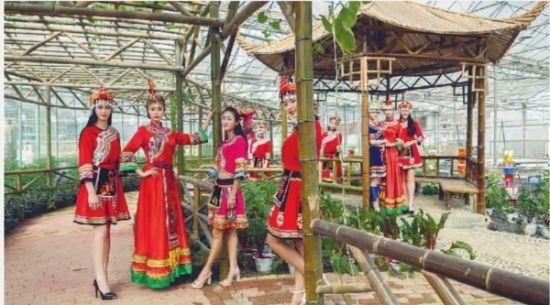 2015新丝路湖南模特大赛总决赛在郴州汝城举行 上演时尚大片