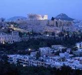 暮色中的雅典
