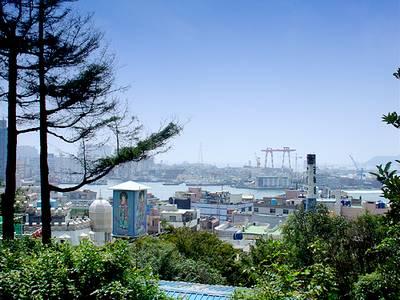 韩国釜谷温泉(图)